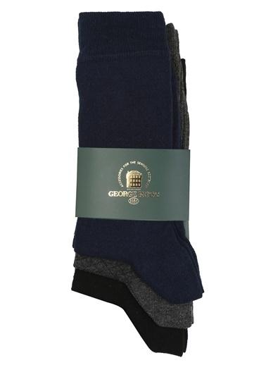 George Hogg 3'lü Çorap Siyah